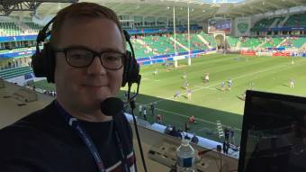 Rugby commentator Heath keeping the spirit of sport going