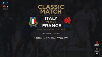 Watch: Italy v France 2013 classic