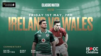 Watch: Ireland v Wales 2018 classic