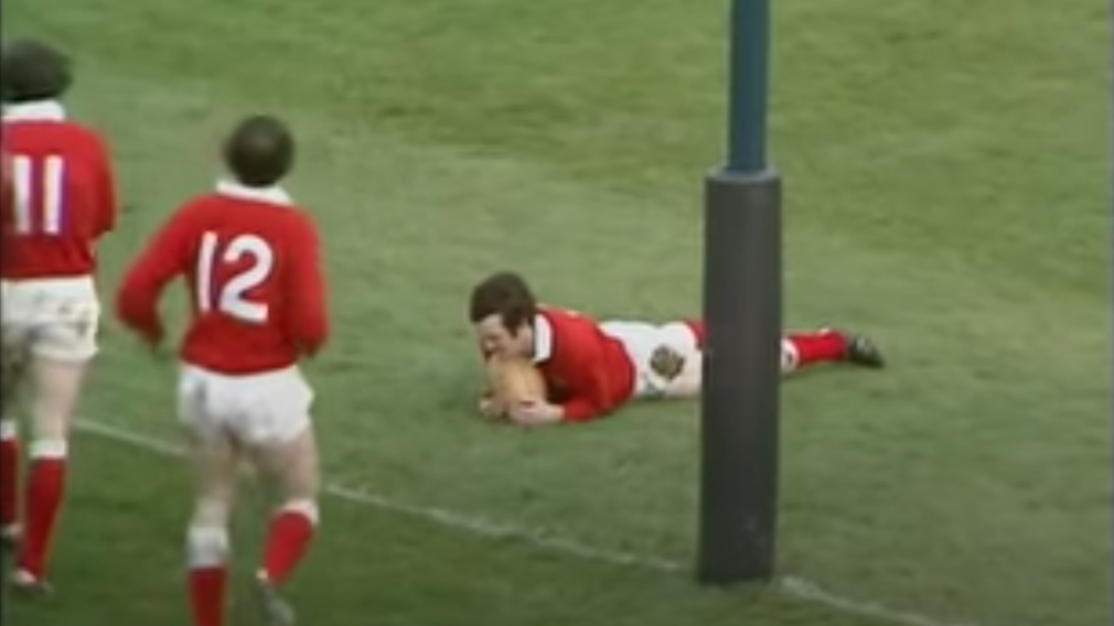 Six Nations Rugby Bennett Try Wins Greatest Ever Wales Try Competition