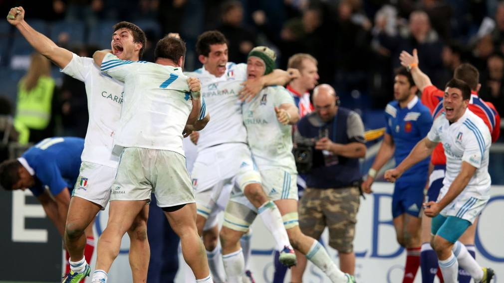 Classic Guinness Six Nations Moment: Italy 23-18 France