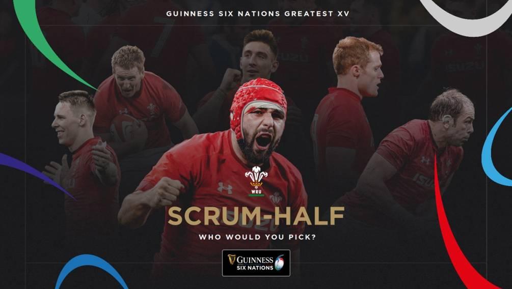 Guinness Six Nations Greatest XV: Scrum-Half