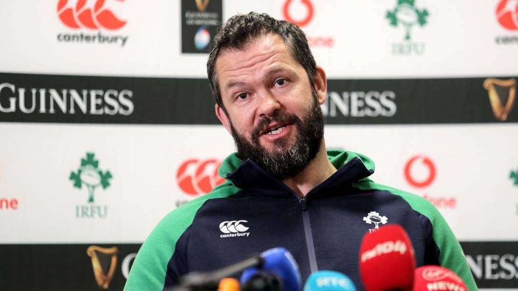 Farrell challenges Ireland to climb Championship pecking order