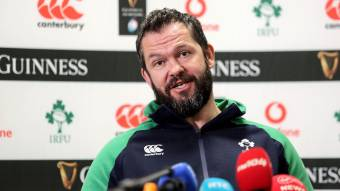 Farrell: Ireland excited by Rugby World Cup test