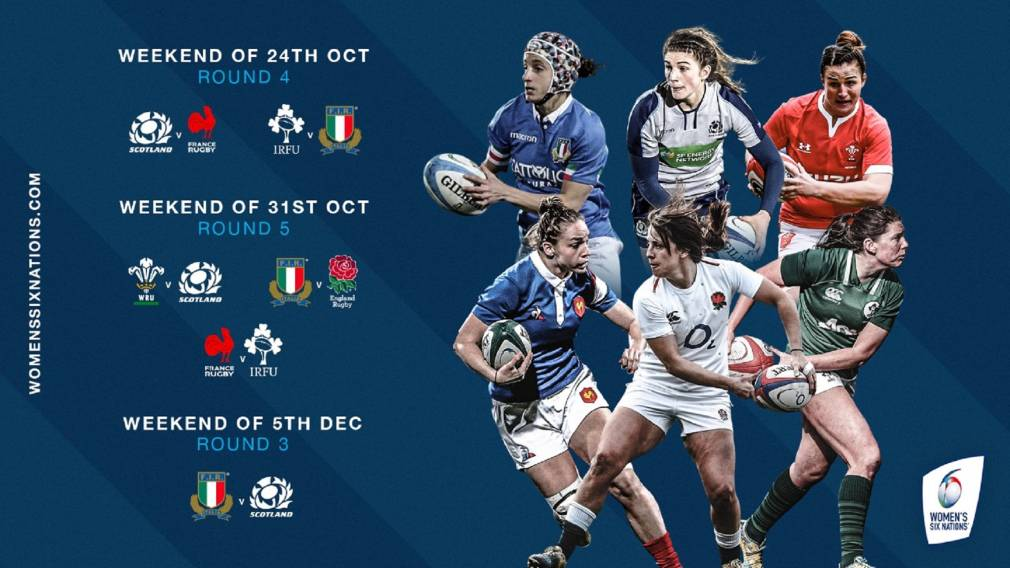 Date for Women's Six Nations 2020 restart announced