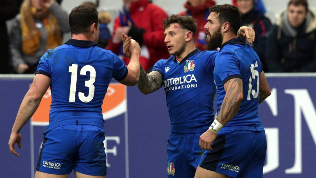 Minozzi earns Italy recall for England clash