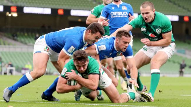 Hugo Keenan cible l'Irlande