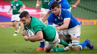 Sexton salutes super Ireland performance in Dublin