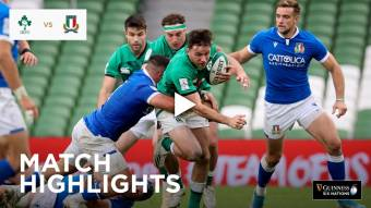 Highlights: Ireland v Italy
