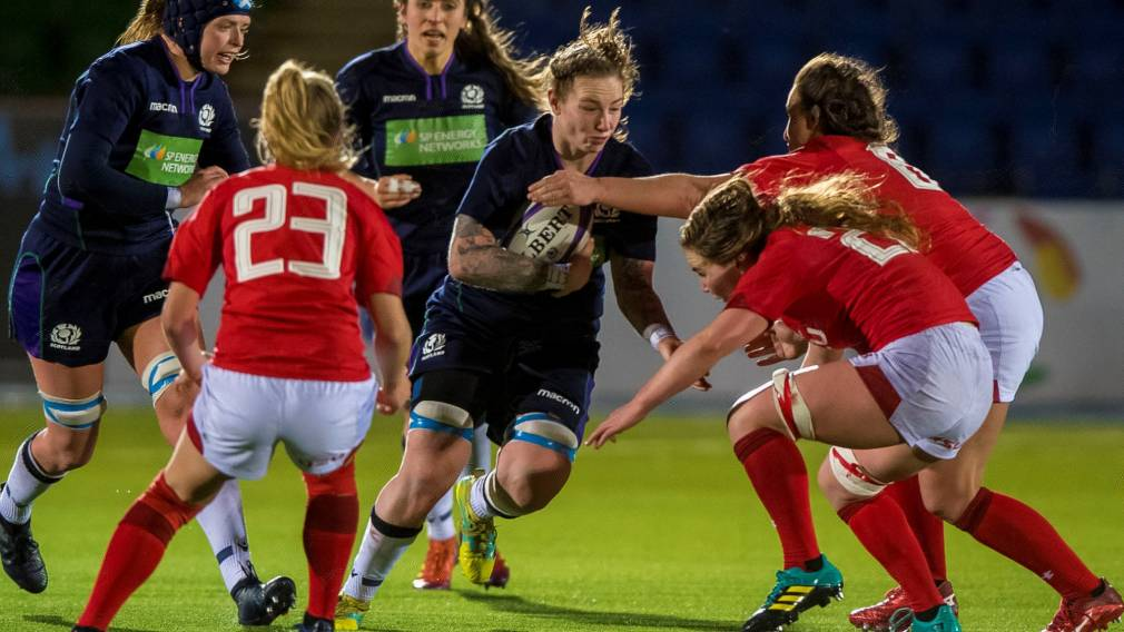 Konkel discusses her rugby journey in new Scottish Rugby series