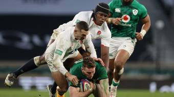 Itoje pleased with 'another step forward' as England beat Ireland