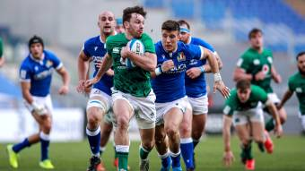 Hugo Keenan's try for Ireland against Italy was one of the highlights