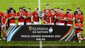 Best of social media as Wales beat England to claim Triple Crown title