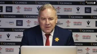 Wayne Pivac post-match press conference