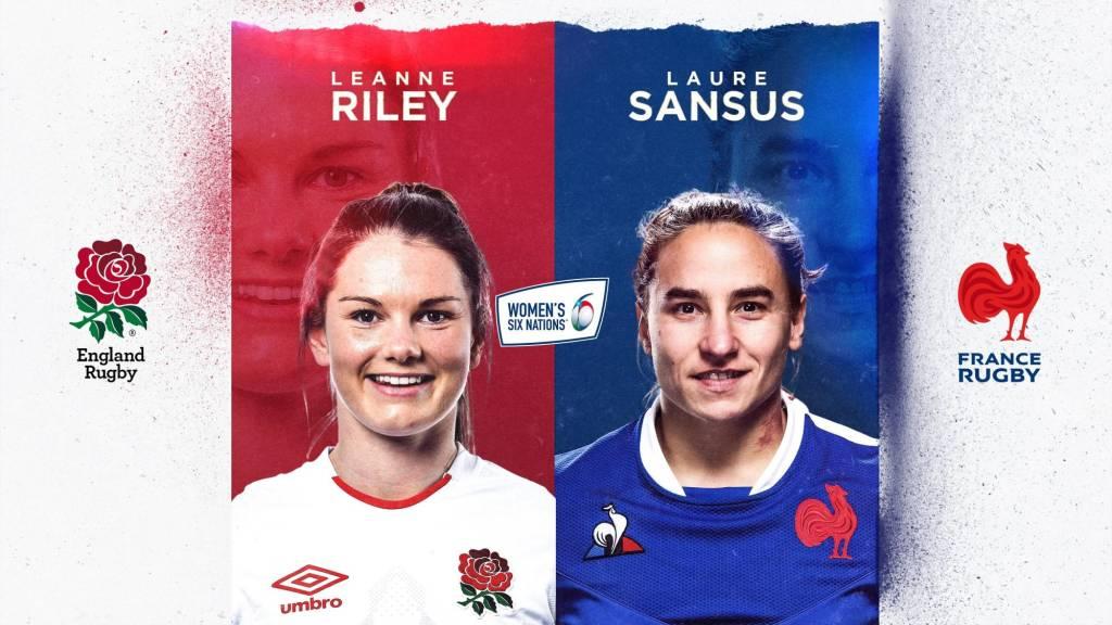 Leanne Riley v Laure Sansus - England v France