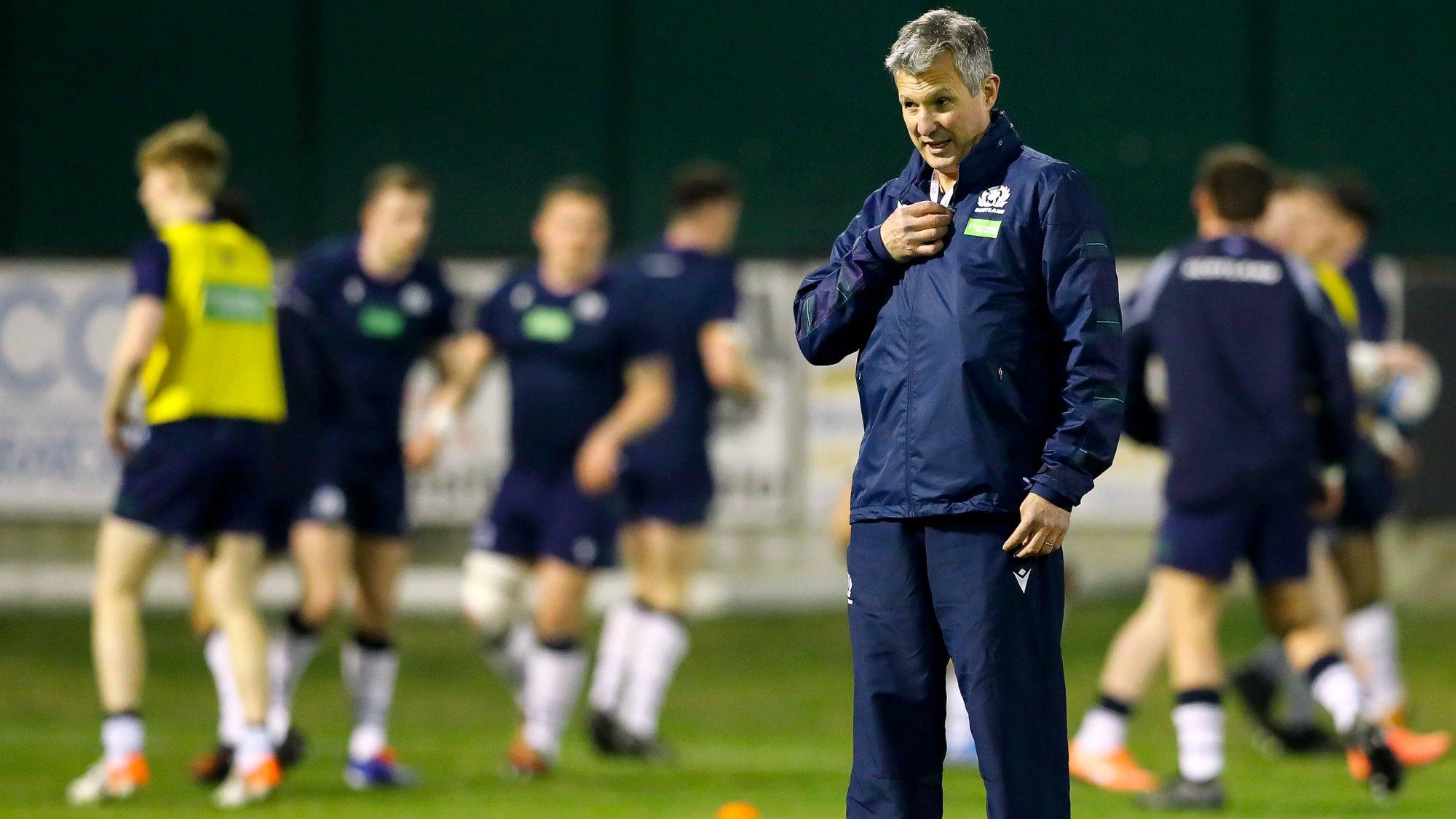 Scotland Under-20s coach Sean Lineen