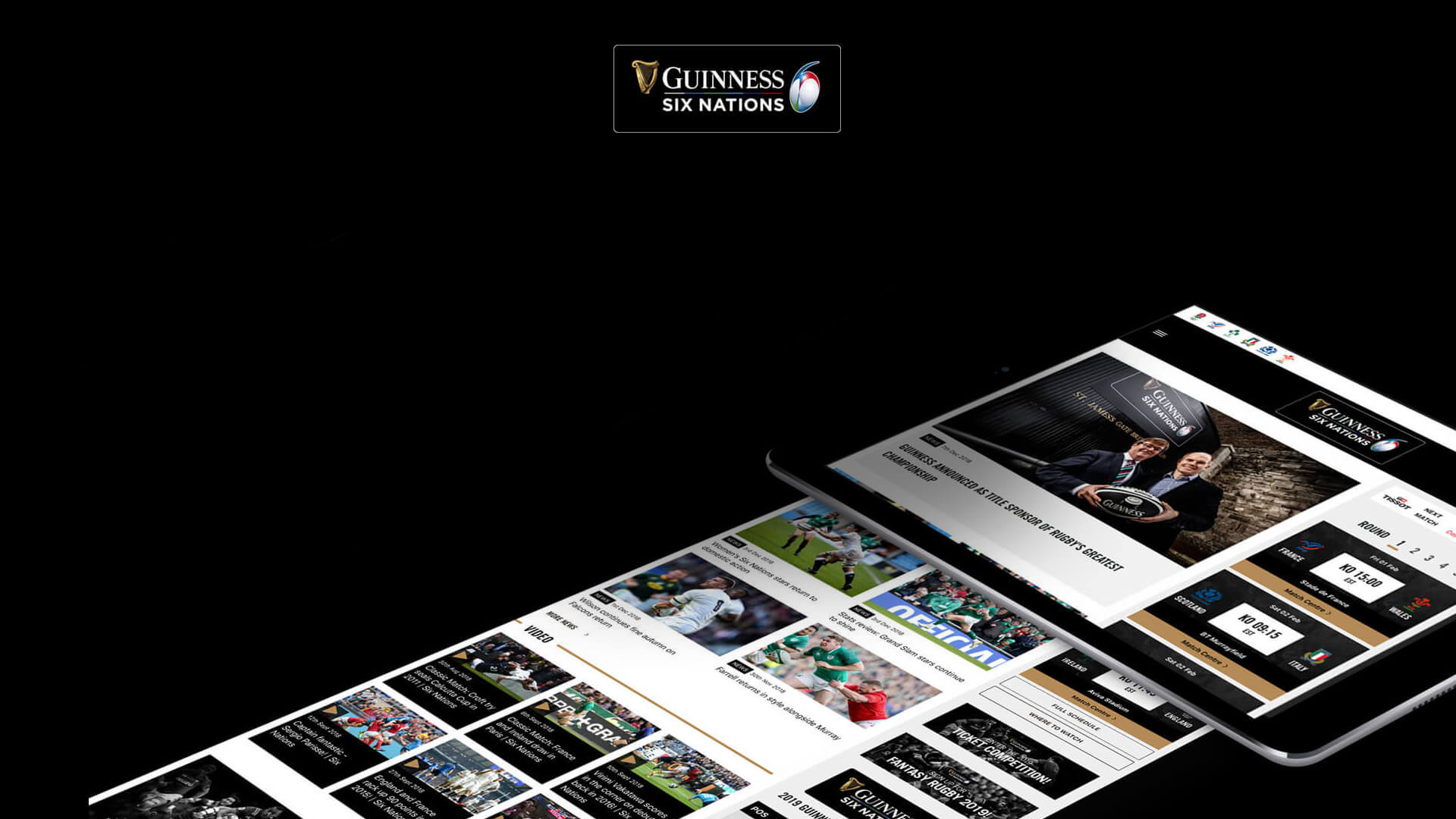 New website unveiled for Guinness Six Nations Rugby