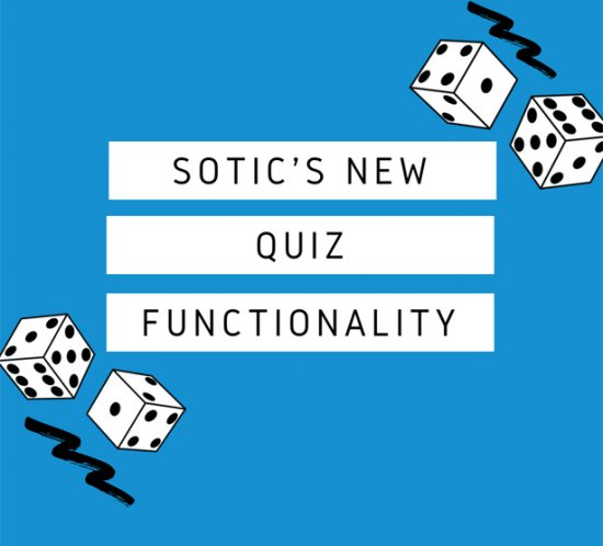 Sotic's quiz functionality