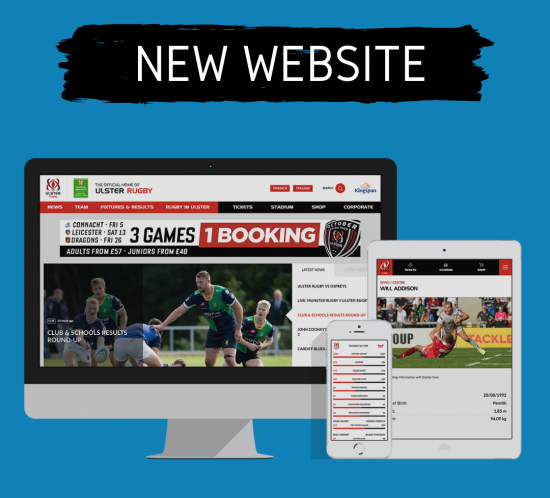 Ulster Rugby website