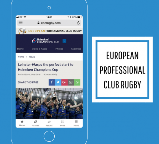 EPCR launch new website