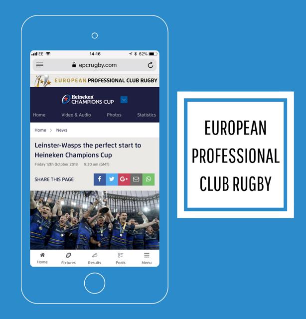 EPCR launch new website