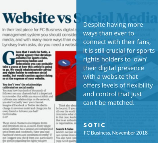 Why having a website is more important than ever