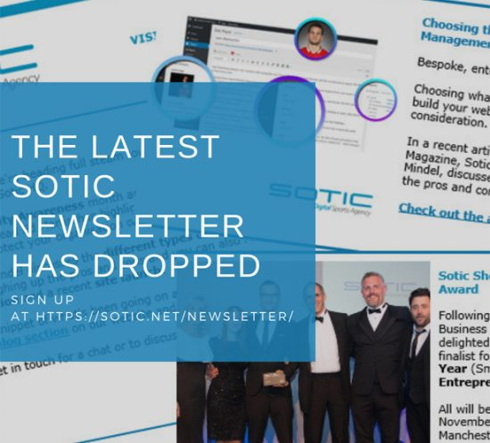 Sotic Newsletter
