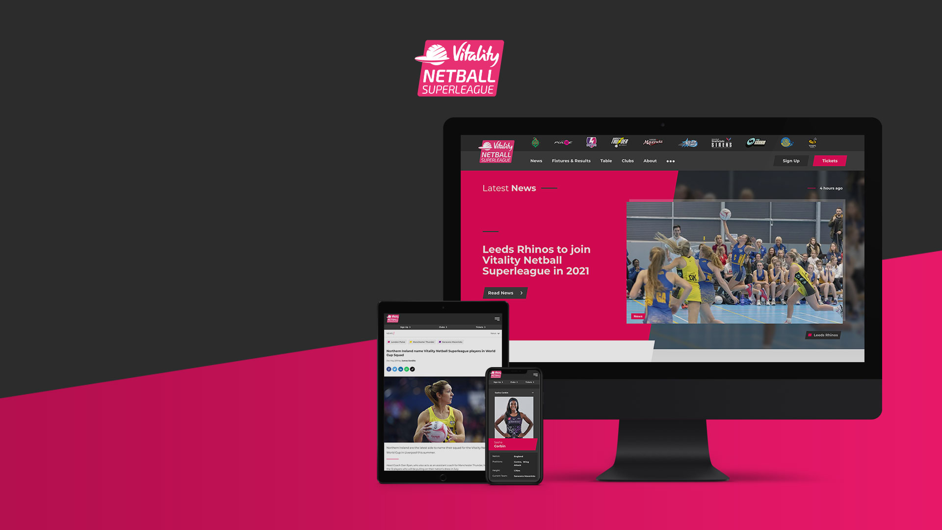 Sotic announces partnership with England Netball