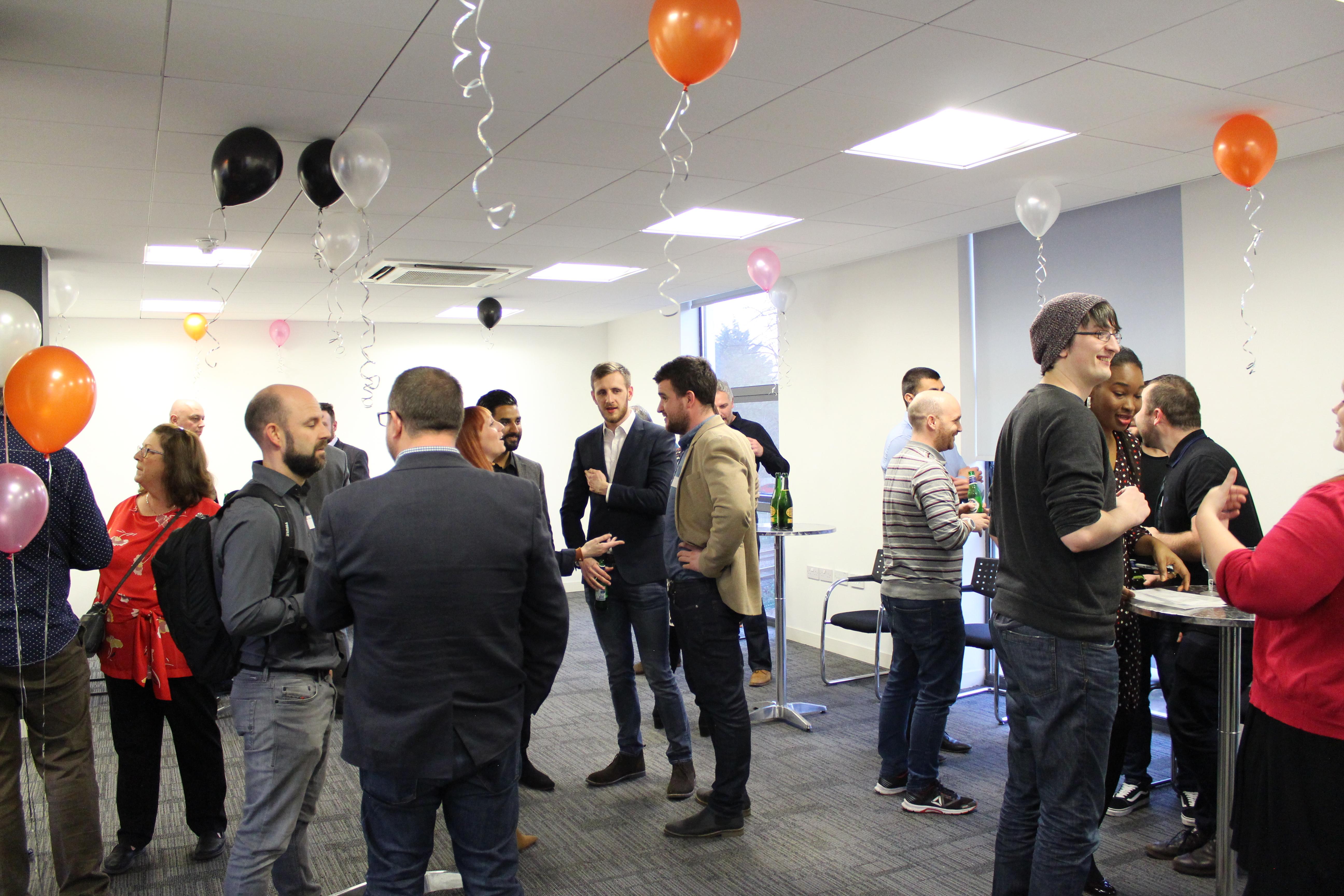 Sotic launch party