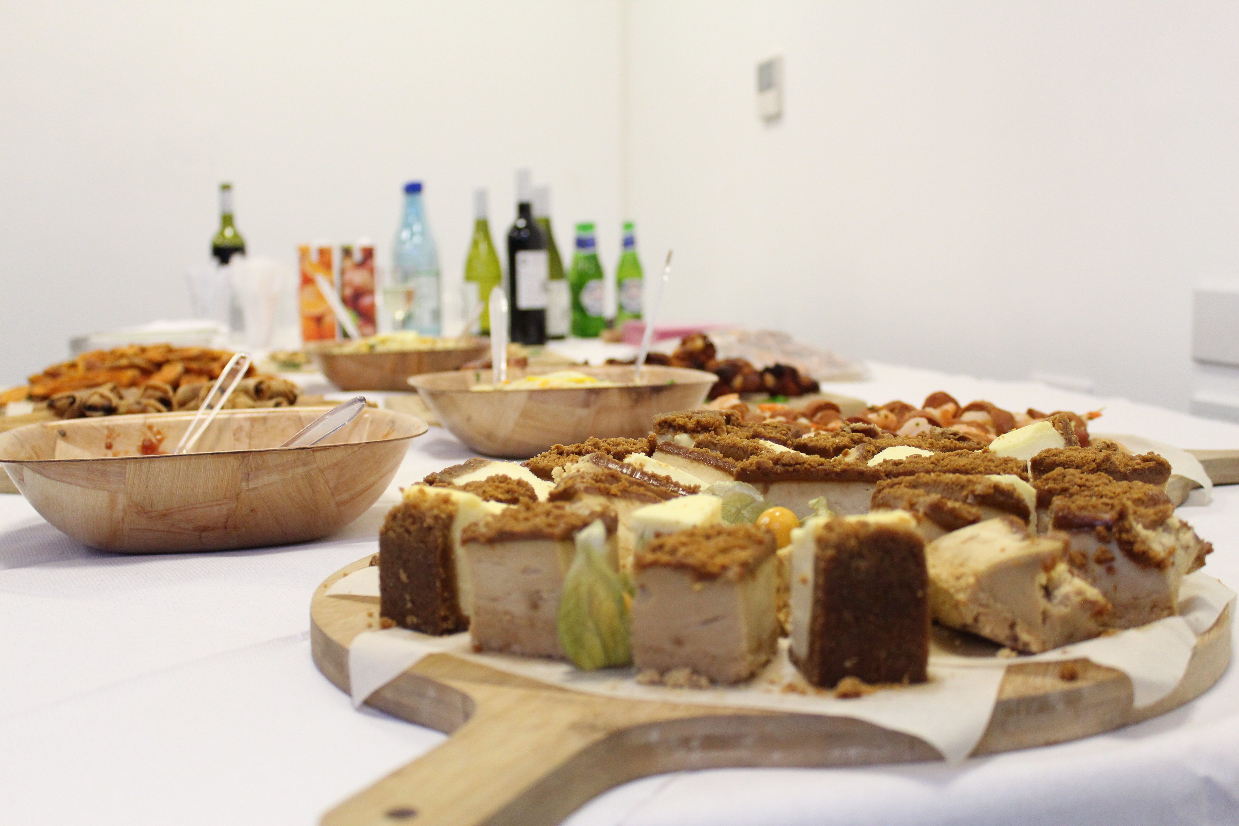 Food at the Sotic launch party