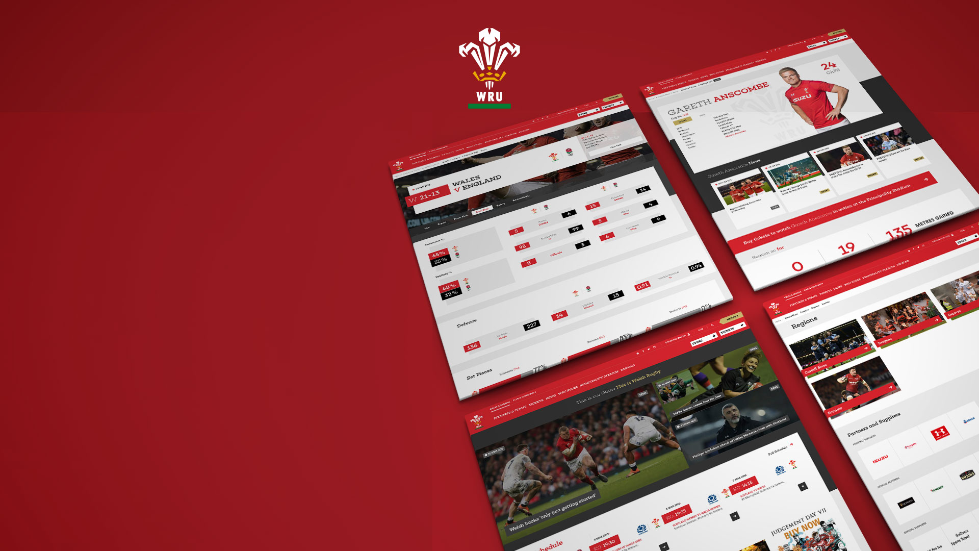 Wru website pages