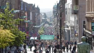 Tour of Britain Glasgow