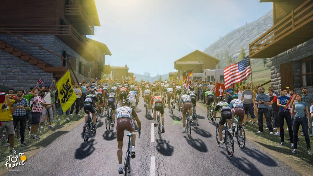 Tour de France screenshot