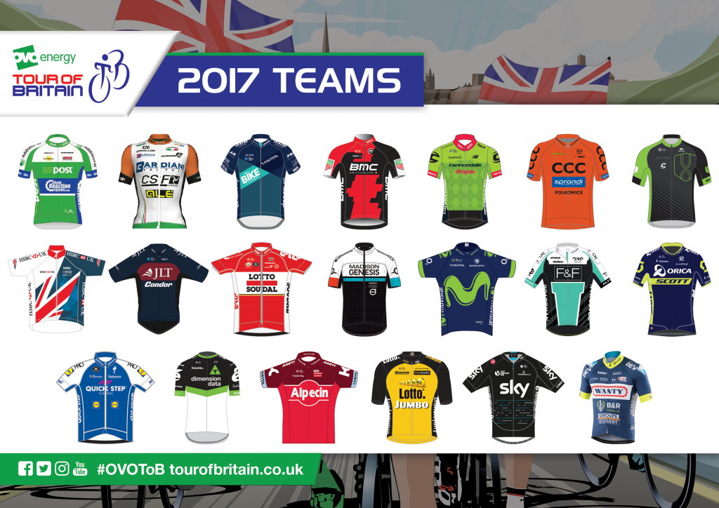 The 2017 teams