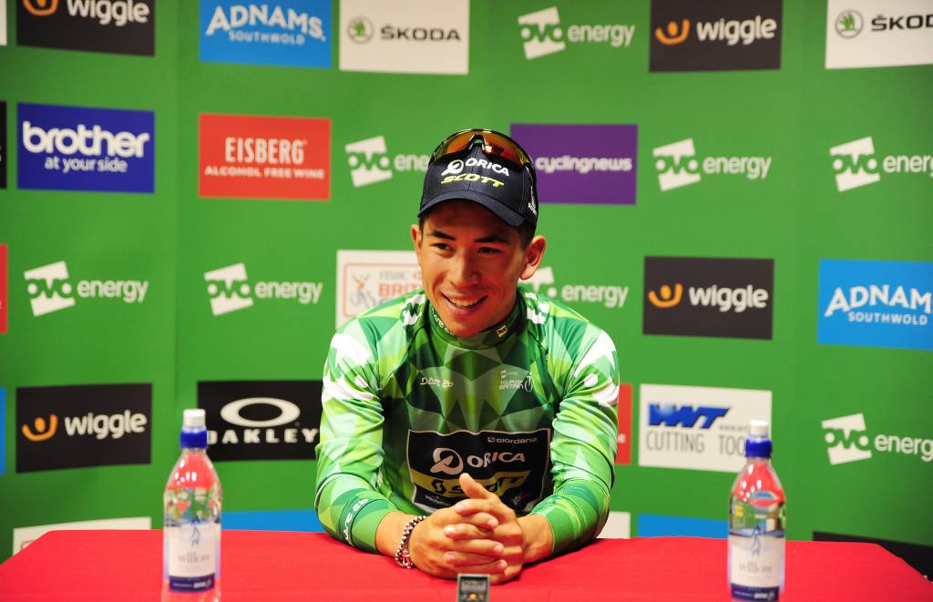 Caleb Ewan OVO Green Jersey Kelso Press Conference Media