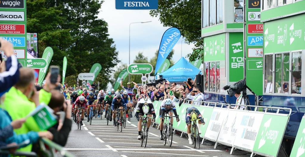 OVO Energy Tour of Britain Stage 3 Sprint Finish Scunthorpe
