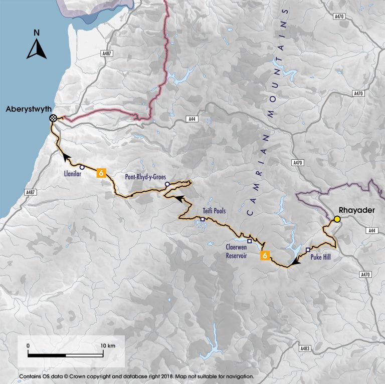 Stage Six Map