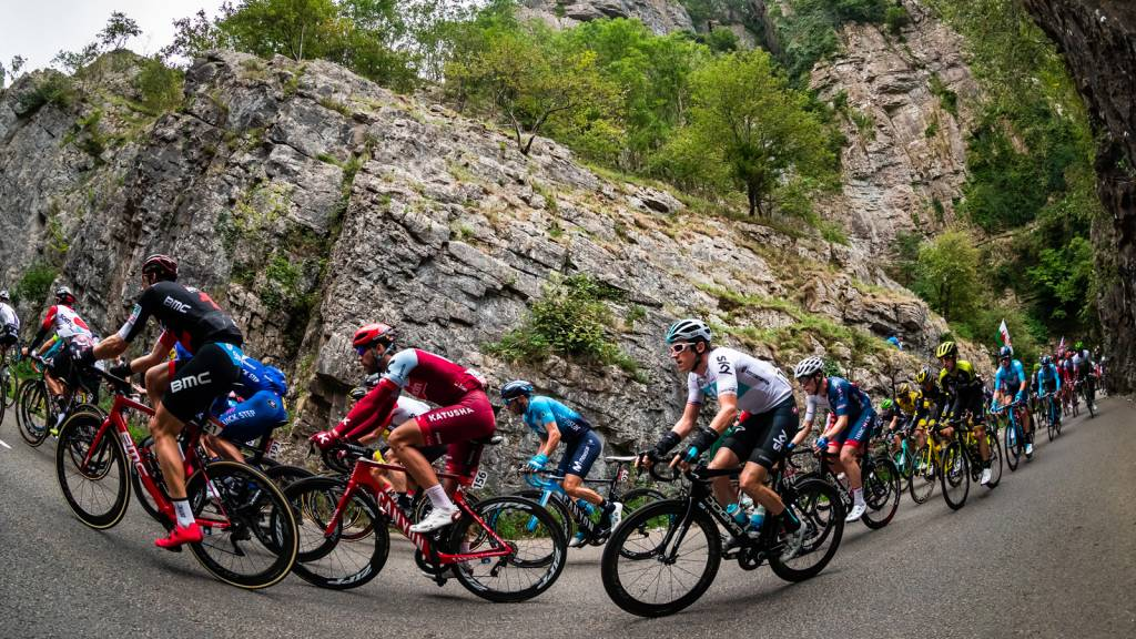 Geraint Thomas Tour of Britain 2018 Cheddar Gorge