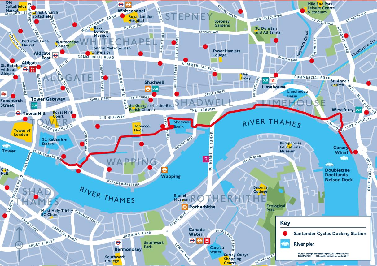 London Tour Map.Ovo Energy Tour Of Britain 20180821 Tob Explore London Map 2 Web