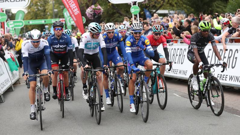 Tour of Britain stage one timetable