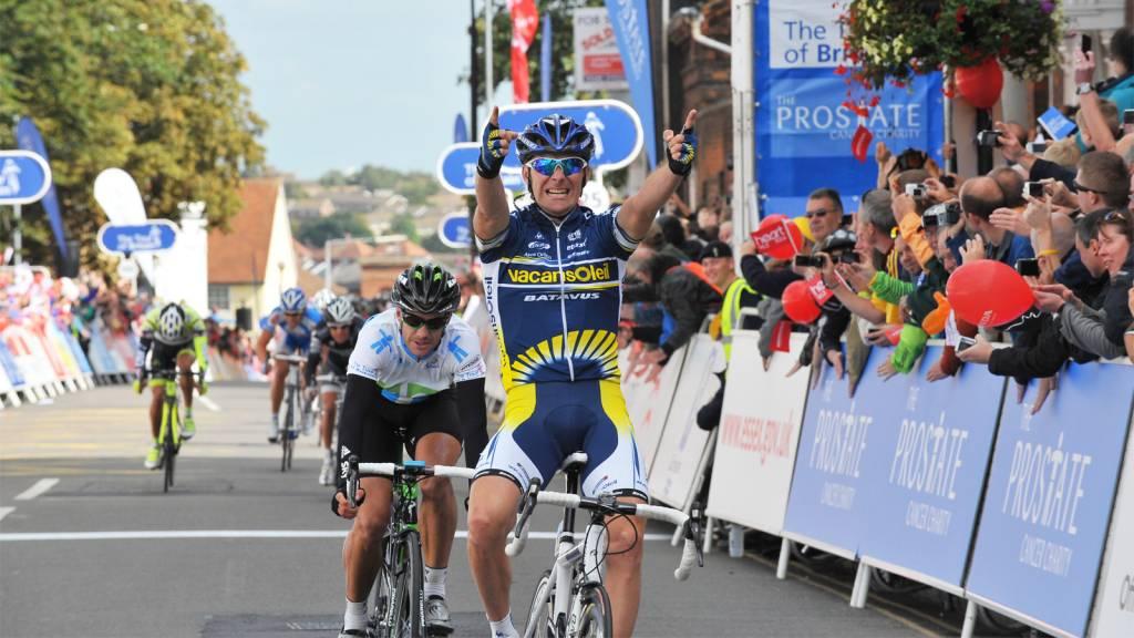 Borut Bozic Tour of Britain Colchester retirement