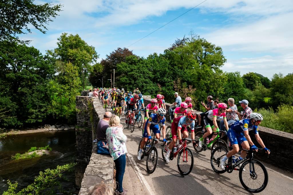 Nantgaredig Tour of Britain Wales