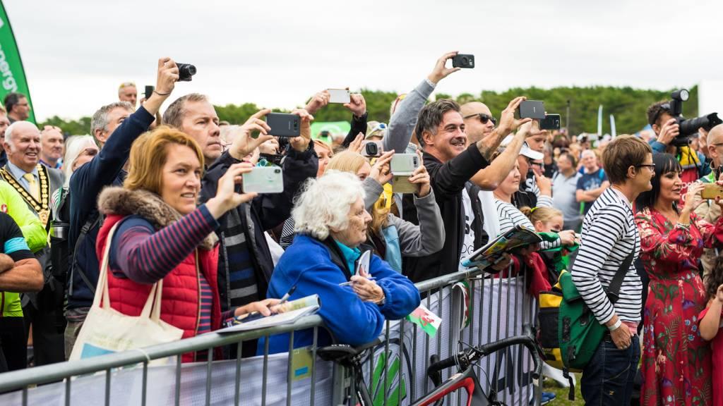 Pembrey Country Park Tour of Britain Fans