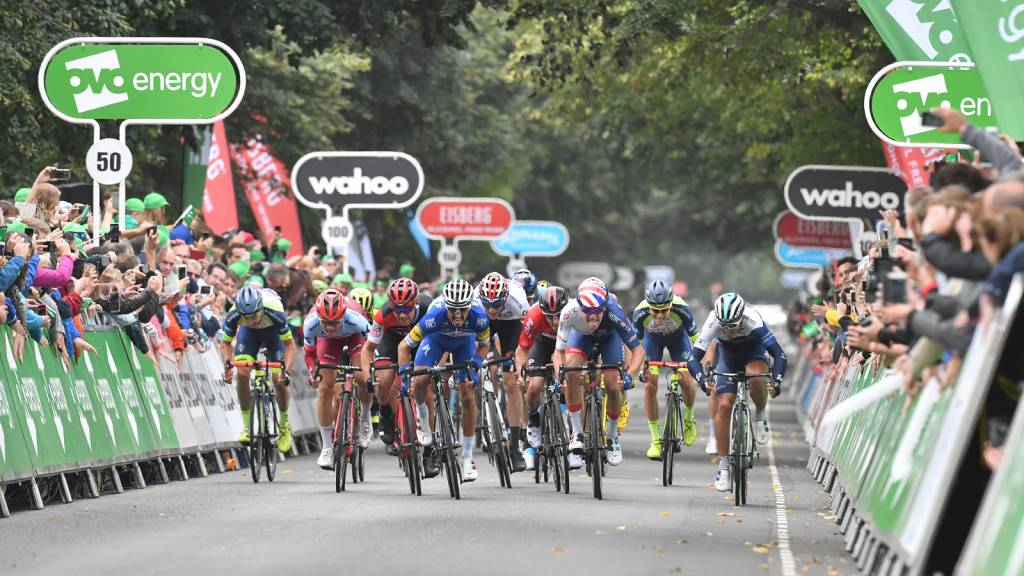 Bristol Tour of Britain Finish Photo