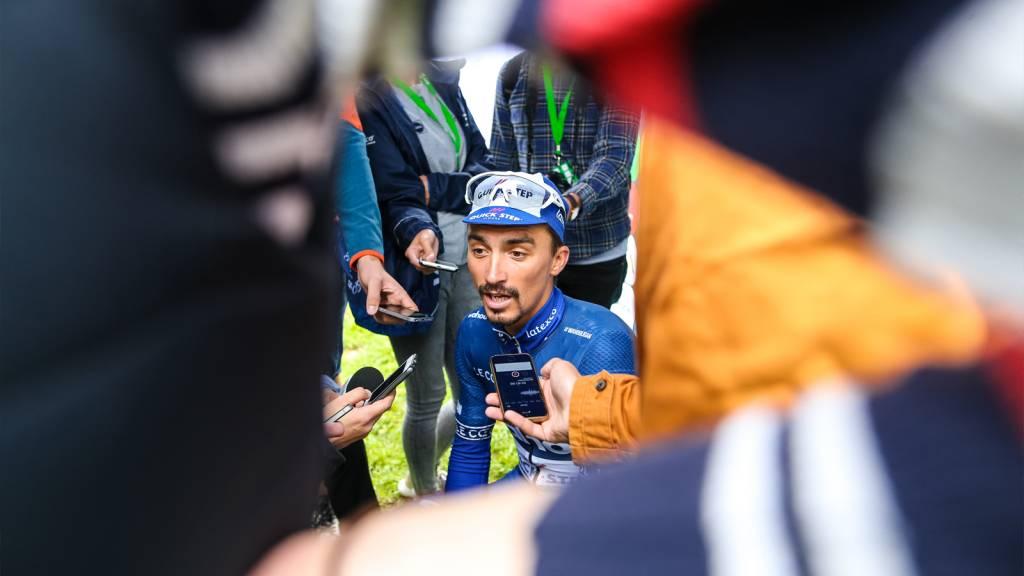 Julian Alaphilippe Bristol Tour of Britain finish
