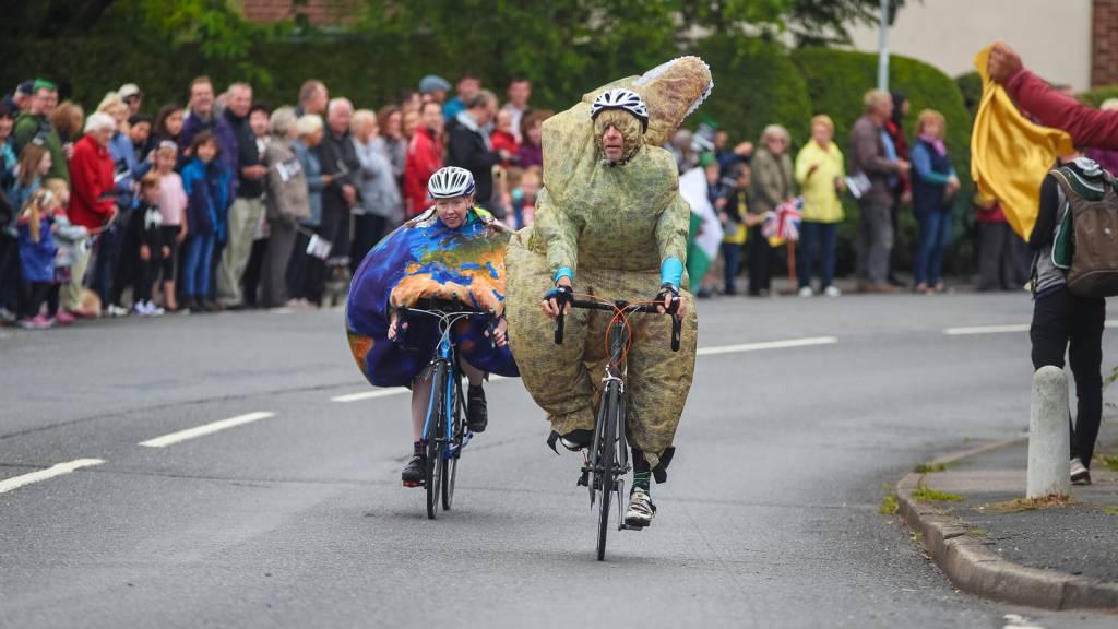 Tour of Britain fans photo