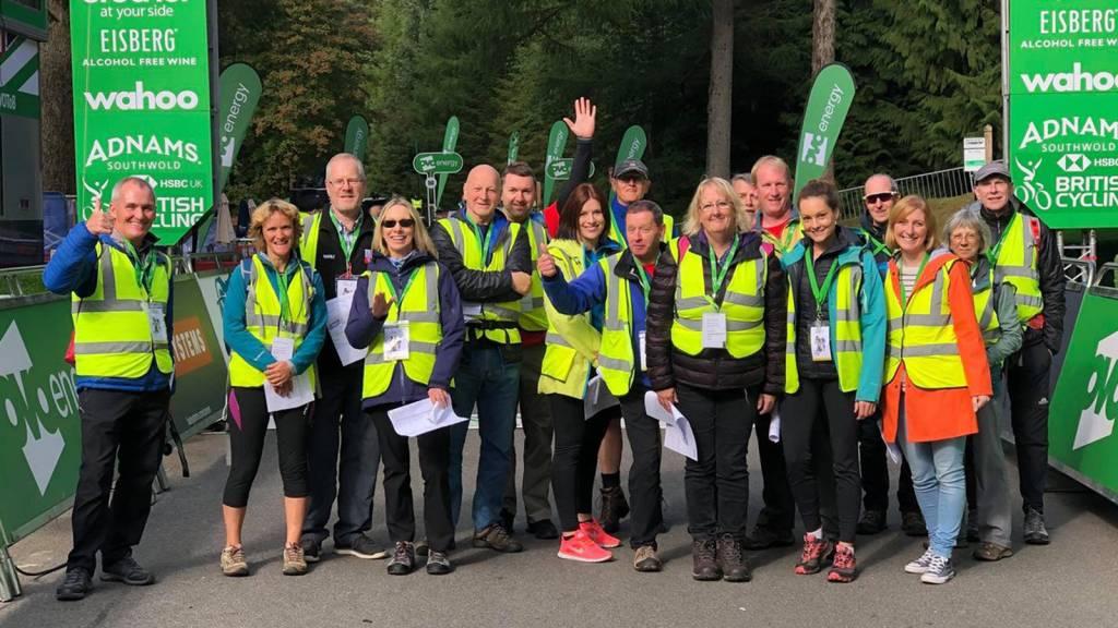 Tour of Britain Race Makers Volunteers