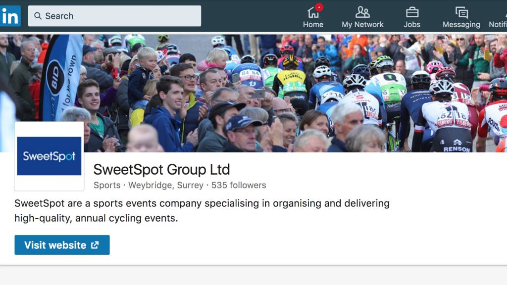 Tour of Britain LinkedIn