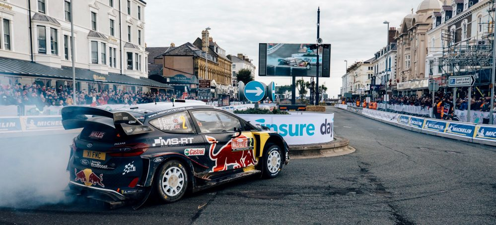 EPIC WRC EVENT MAKES HISTORY IN WALES