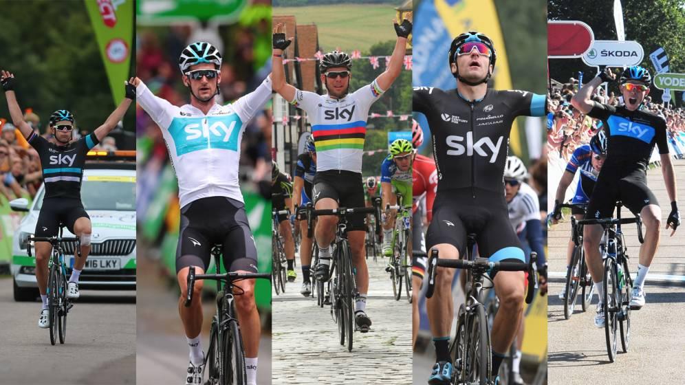 Team Sky Tour of Britain